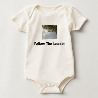 Follow The Leader - Ducks Baby Bodysuit