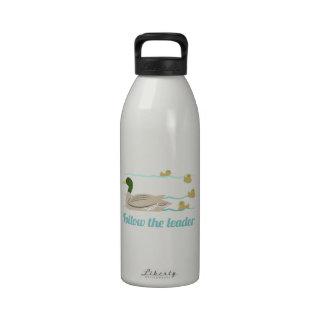 Follow The Leader Reusable Water Bottle