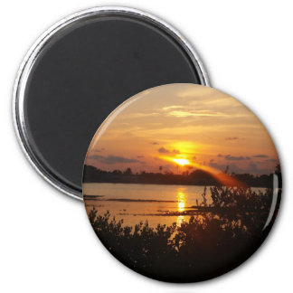 Follow the light home 2 inch round magnet