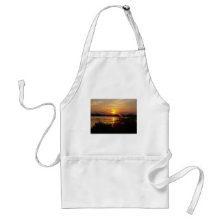 Follow the light home adult apron