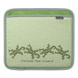 Follow the Lizard horizontal Sleeve For iPads
