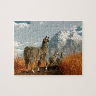 Follow the Llama Puzzle