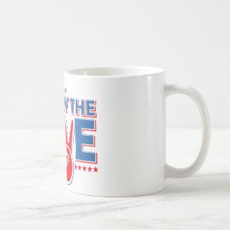 Follow The Love - Elect Obama Now Coffee Mug