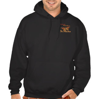Follow the Monarchs to St. Marks Hooded Sweatshirt