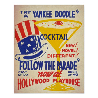 Follow the Parade Vintage Poster