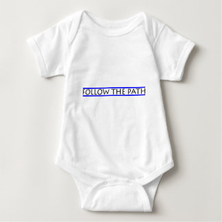 FOLLOW THE PATH BABY BODYSUIT