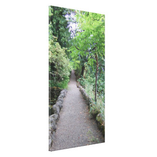 Follow the Path That Your Heart Longs to Take Canvas Print