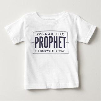 Follow the Prophet. infant shirt