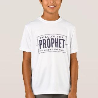 Follow the Prophet. kid's shirt