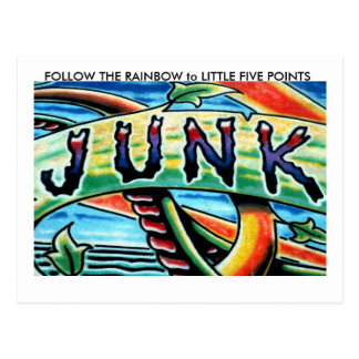 FOLLOW THE RAINBOW to LITTLE F... Postcard