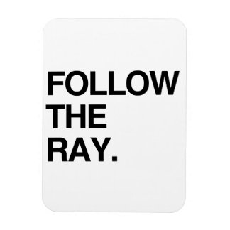 FOLLOW THE RAY MAGNET