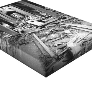 Follow the Risk Gallery Wrapped Canvas