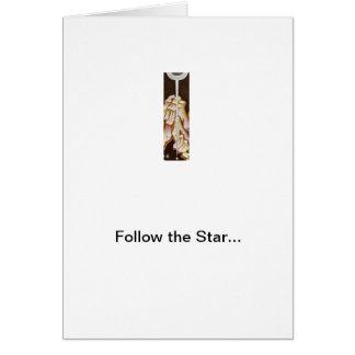 Follow the Star! Card