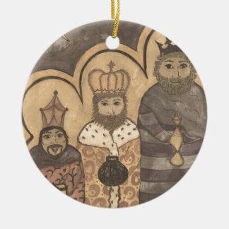 Follow the Star Ceramic Ornament