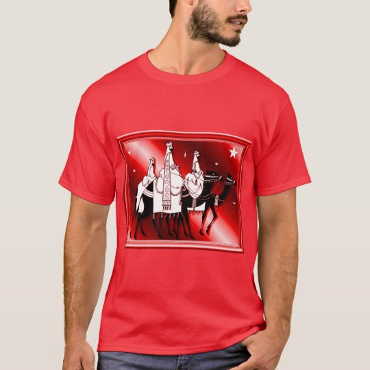 Follow the star, red T-Shirt