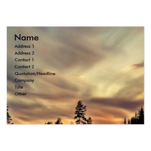 Follow the Sun Business Card Templates