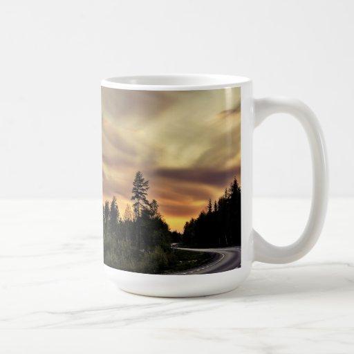 Follow the Sun Coffee Mugs