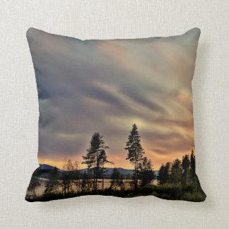 Follow the Sun Throw Pillows