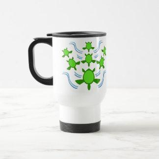 Follow the Turtles Travel Mugs