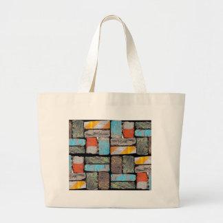 Follow the Urban Brick Road Large Tote Bag