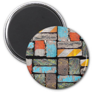 Follow The Urban Brick Road Magnet