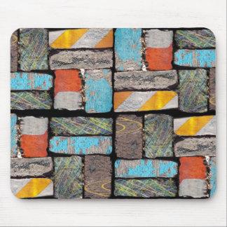 Follow The Urban Brick Road Mouse Pad