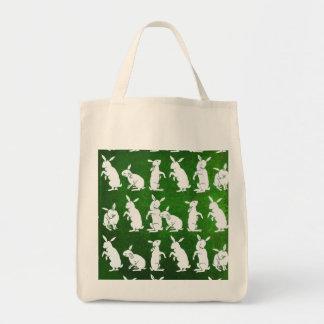 Follow the White Rabbit bag