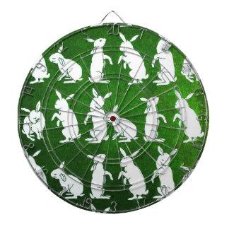Follow the White Rabbit dart board