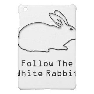 Follow The White Rabbit I-Pad Case iPad Mini Case