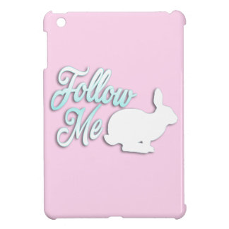 Follow the White Rabbit iPad Mini Cases