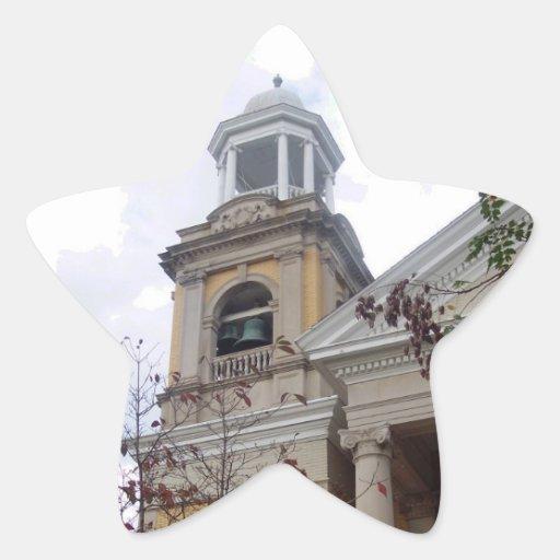 Follow the Yellow Brick Church Star Sticker