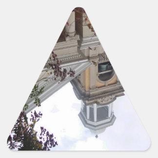 Follow the Yellow Brick Church Triangle Sticker
