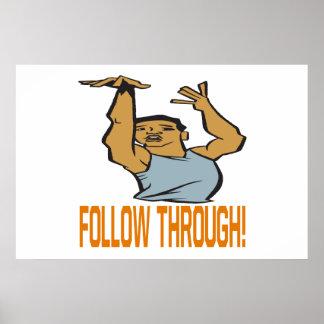 Follow Through Poster