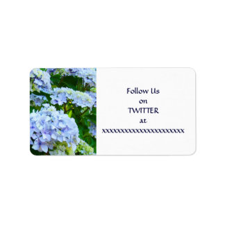 Follow Us on TWITTER Your Name Custom Stickers