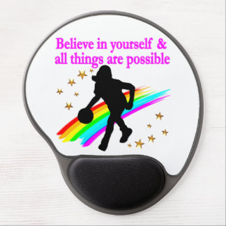 FOLLOW YOUR BASKETBALL DREAMS GEL MOUSE PAD