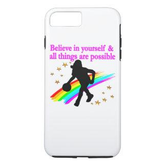FOLLOW YOUR BASKETBALL DREAMS iPhone 8 PLUS/7 PLUS CASE