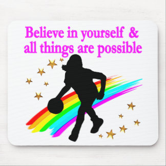 FOLLOW YOUR BASKETBALL DREAMS MOUSE PAD