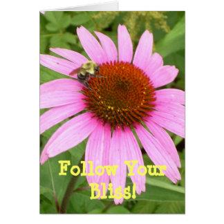 Follow Your Bliss! Card