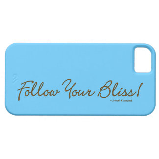 Follow Your Bliss! iPhone 5/5S Covers
