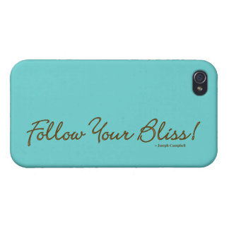 Follow Your Bliss G4 iPhone Case Covers For iPhone 4