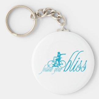 Follow Your Bliss Keychain