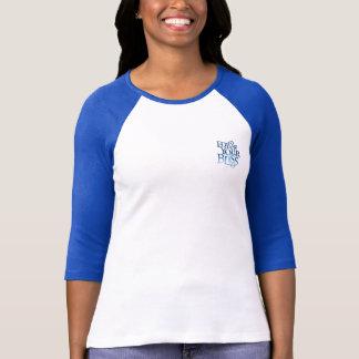 Follow Your Bliss Ladies Baseball TShirt