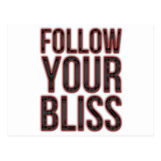 Follow Your Bliss Postcard