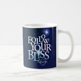 Follow Your Bliss Starry Mug