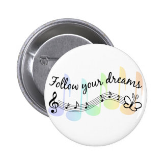 Follow Your Dreams Buttons