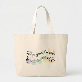 Follow Your Dreams Canvas Bag