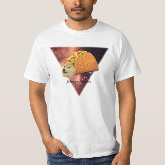 Follow Your Dreams Doge T Shirt
