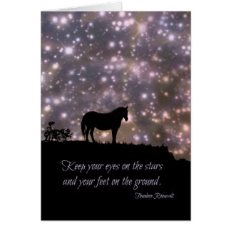 Follow Your Dreams, Famous Quote,Teddy Roosevelt Card