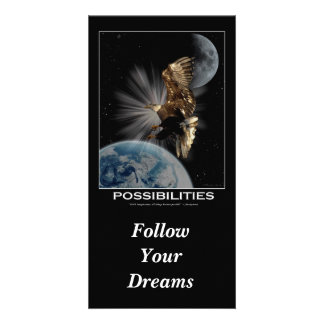 """""""Follow Your Dreams""""  Motivational Cards Picture Card"""