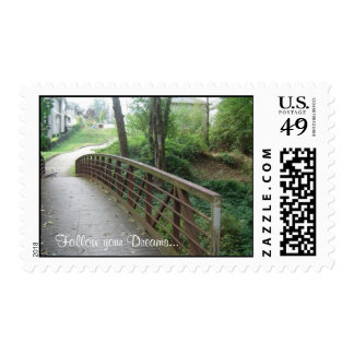 Follow your Dreams... Motivational  postage